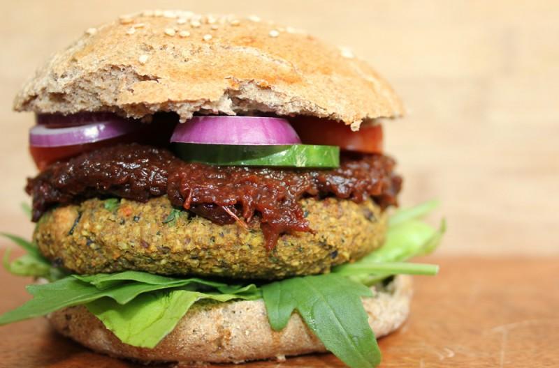 Veganeer Burger